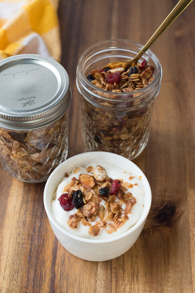 Easy Granola as a topping