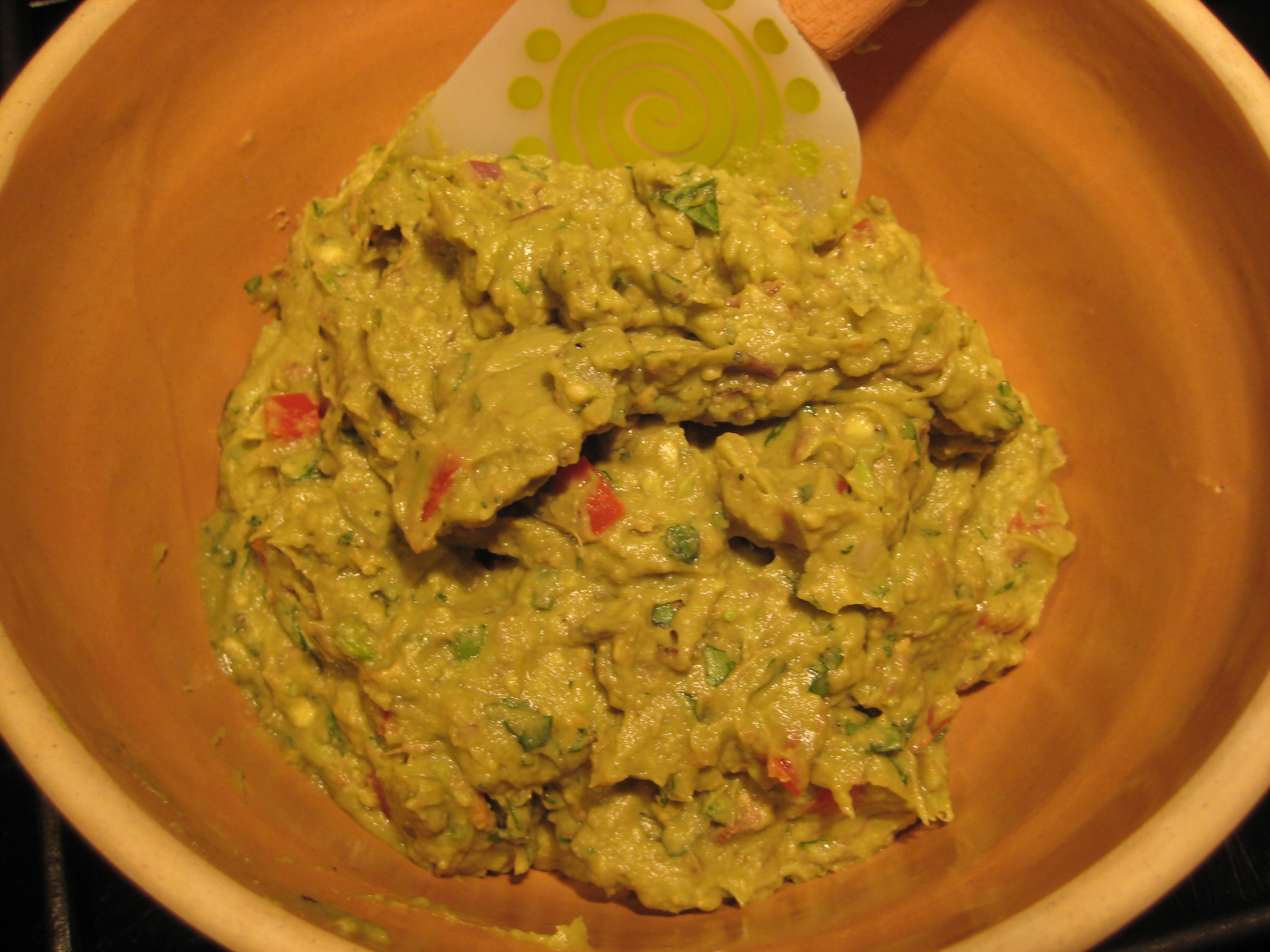 Grilled Guacamole with Fresh Cilantro, Toasted Cumin and Roma Tomatoes