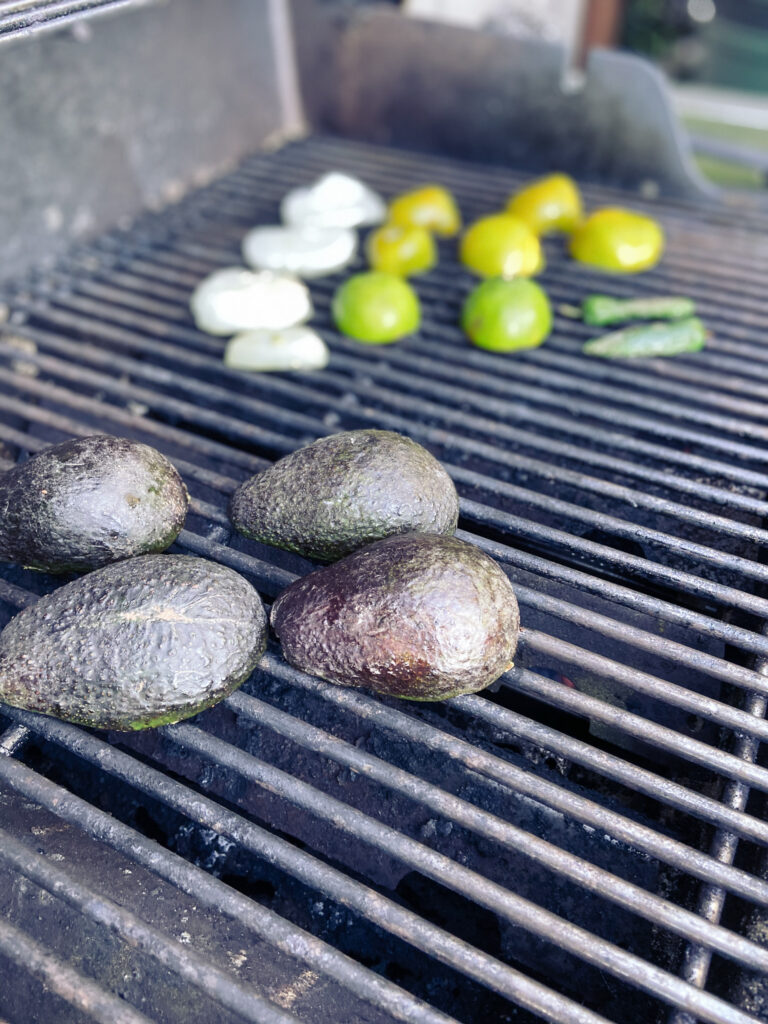 The Best Grilled Guacamole Fresh Items on the Grill