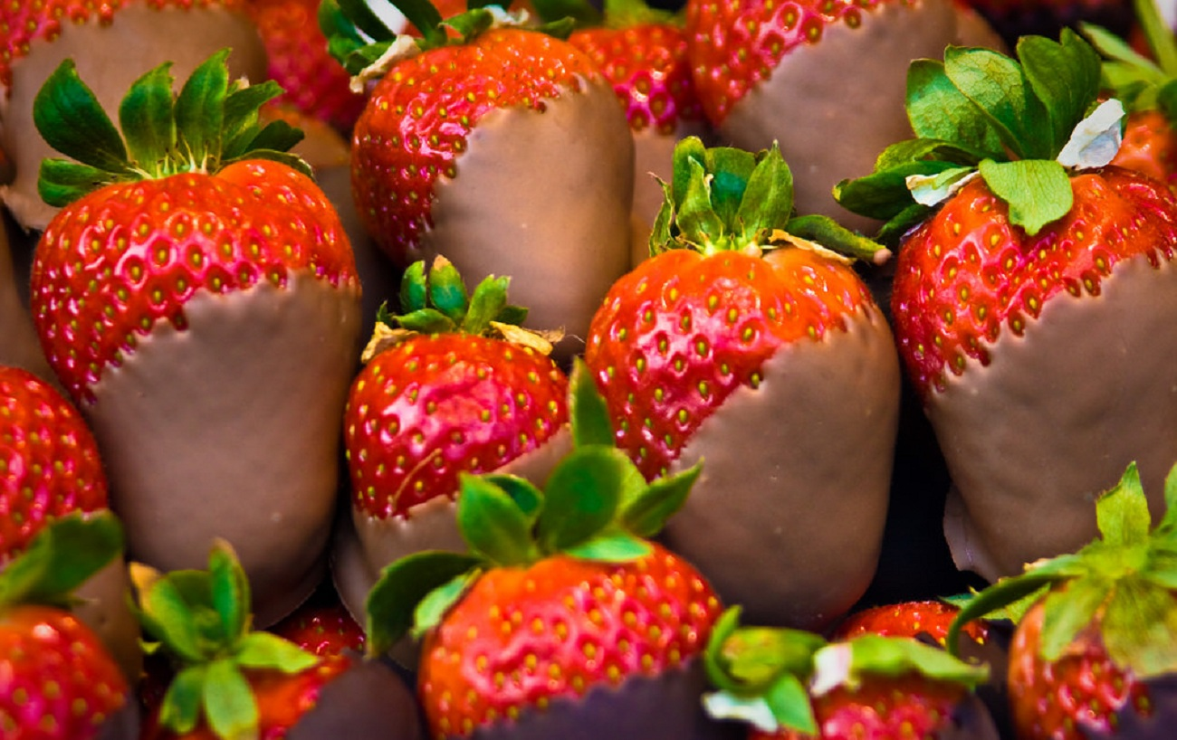 Chocolate Covered Strawberries for Valentine's Day or Any Day