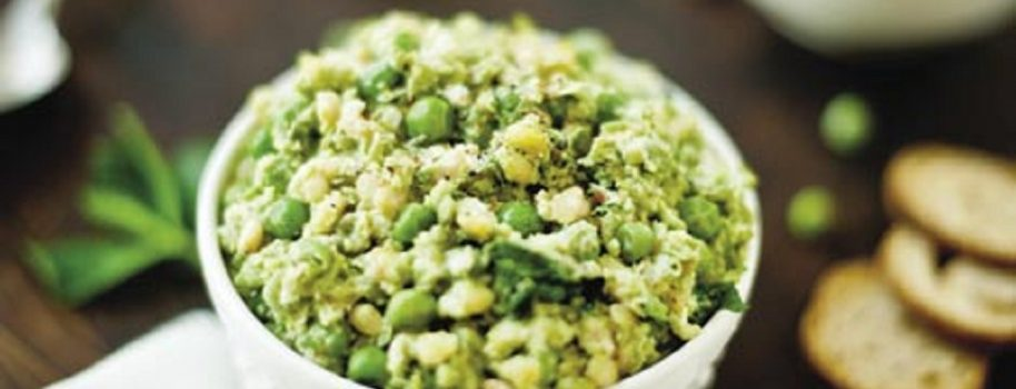 Laurie's Pea Pleaser recipe in WNC Magazine