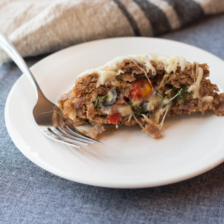 Stuffed Gourmet Meatloaf