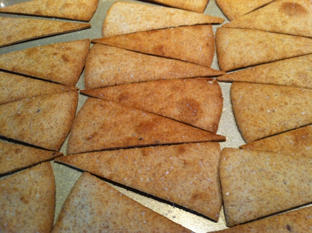 Honey Wheat Pita Chips