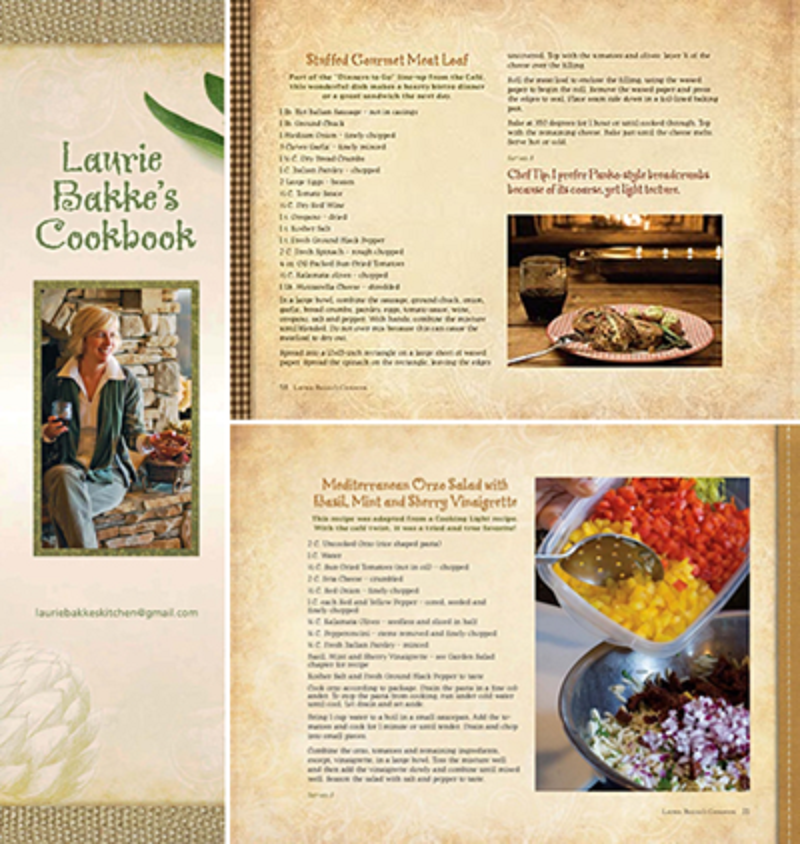New Price for Laurie Bakke's Cookbook!