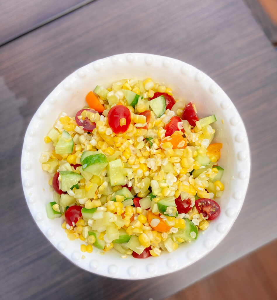 Easy Summertime Corn Salad