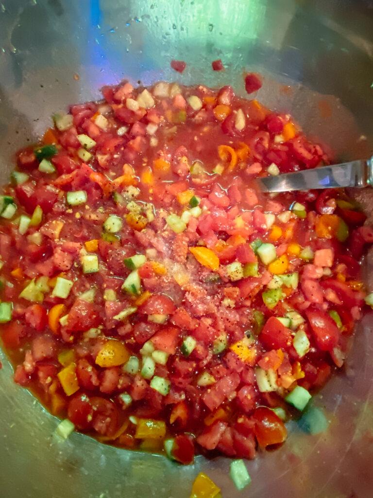Summer Time Gazpacho Soup