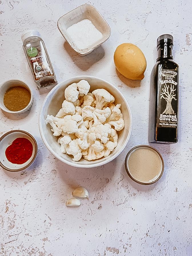 Smoked Cauliflower Hummus Recipe Ingredients